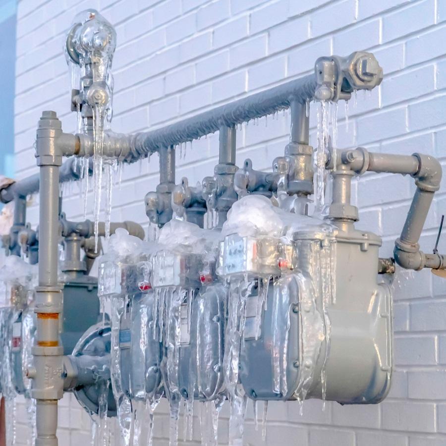Téli teendők, tudnivalók: az ivóvízmérők és vízvezetékek fagy elleni védelméről